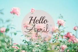 Resultado de imagem para bem vindo abril