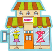 Image result for clothes shopping clipart