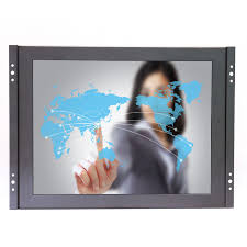 best resolution 1920 1080 17 3 inch wide touch screen monitor with 4 wire resistive av bnc vga hdmi usb
