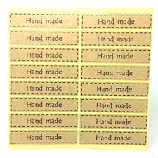 Buy Generic 35mm <b>120pcs</b> : Kraft Paper Rectangle Shape Sticker ...