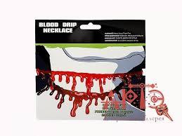 """Купить <b>Украшение на шею</b> """"<b>Кровь</b>"""" в интернет магазине АРТЭ"""