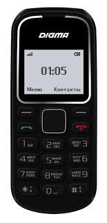 Купить Мобильный <b>телефон DIGMA</b> A105 2G <b>Linx</b>, черный в ...
