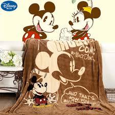 <b>Disney Cartoon</b> Pink Minnie <b>Mickey Mouse</b> Soft <b>Flannel</b> Blanket ...