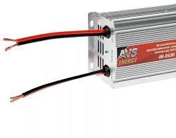 Автомобильный <b>инвертор AVS IN-2420</b> (24>12В, 20А, 240Вт) от ...