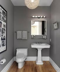 ideas bathroom gray red grey tile