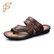 China Korean Men <b>New Design Fashion</b> Flat <b>Summer</b> Sandals 2017 ...
