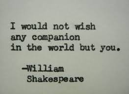 WILLIAM SHAKESPEARE love quote Typed on Typewriter love quote ... via Relatably.com