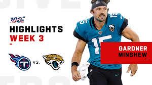 Gardner Minshew Leads Jags First Win | NFL 2019 Highlights ...