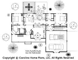 D Images For CHP SG   AA   Small Ranch D House Plan ViewsSG   AA Furnished Main Floor Plan