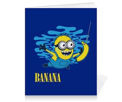 Тетрадь на клею <b>Banana</b>. <b>Миньоны</b> #1066453 от geekbox