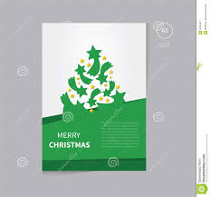 christmas tree brochure flyer design template size a5 stock vector christmas tree brochure flyer design template size a5