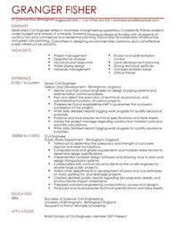 civil engineer cv example for engineering   livecareerall cv    s and cover letters are  able as adobe pdf  ms word doc  rich text  plain text  and web page html formats  click to enlarge image