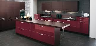 kitchen brown red  burgundy brown kitchen
