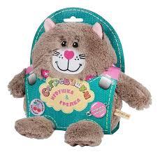 Купить мягкая игрушка <b>Maxitoys</b> Грелка Кошечка, цены в Москве ...