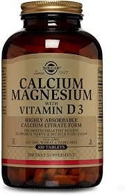 Solgar - Calcium Magnesium with Vitamin D3, 300 ... - Amazon.com
