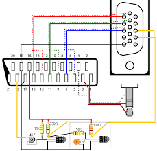 video cable schematicsconnection diagram