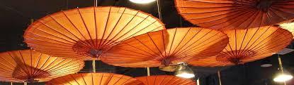 japanese umbrellas lighting website header asian lighting