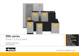 Product Manual to support the Parker SSD 590+ series digital DC ...