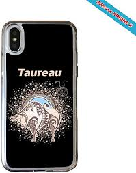 NEATIK <b>Zodiac</b> Sign Taurus <b>Silicone Case for</b> iPhone X: Amazon.co ...