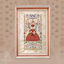 <b>Набор</b> для вышивания «Королева сердец» – Owlforest Embroidery