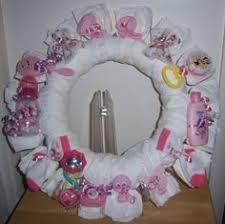 Diaper Wreath Baby Shower Gift, <b>Boy</b>, <b>Girl</b>, Neutral, <b>Customize</b> Gift ...