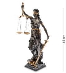 "<b>Статуэтка</b> ""<b>Фемида</b> - богиня правосудия"" <b>Veronese</b> купить, цены в ..."