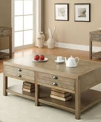 room table displays coaster set driftwood: coaster cottage coffee table sku the bright and chic driftwood finish used on this coffee table makes it an excellent piece for a cottage french laundry