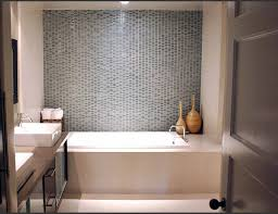 empty bathroom interior small window