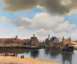 johannes vermeer view of delft 1660 61 he took a turbulent reality and made it look like heaven on earth