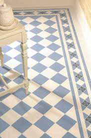 bright blue tiles cover
