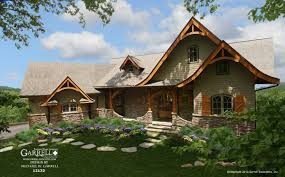 Hot Springs Cottage House Plan   Gable   Country Farmhouse SouthernHot Springs Cottage House Plan   Gable