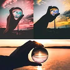 Buy Neewer 100mm/3.94inch <b>Clear</b> Crystal Ball <b>Globe</b> with a Crystal ...