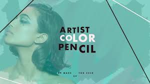 Introducing Artist Color Pencil   <b>MAKE UP FOR EVER</b> - YouTube