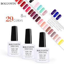 <b>Top</b> Base Coat Colorful Gel Nail Polish Soak Off UV Gel Varnish DIY ...