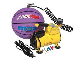 Sportime <b>Mini Electric</b> Air <b>Inflator</b>, Yellow