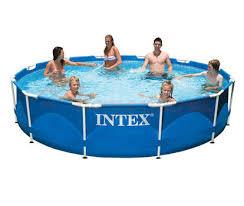 Каркасный <b>бассейн Intex</b> 28210 <b>Metal Frame</b> Pool, цена - купить с ...