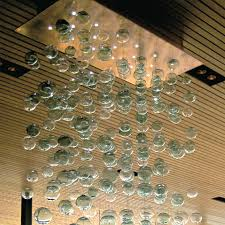 bubbles blown glass chandelier artisan blown glass lamps