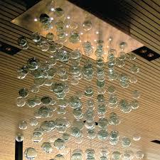 bubbles blown glass chandelier bubble hand blown glass
