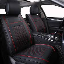 Only Front Leather <b>Universal Car seat cover</b> For Suzuki Swift Wagon ...