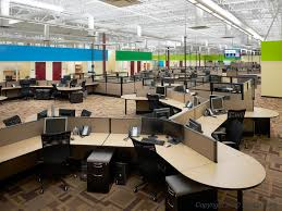open office cubicles. the number of private offices has decreased to just 32 since 1997 open office cubicles c