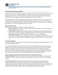 resume objective examples how to write a resume objective resume objective statement 04
