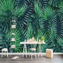 Shop <b>Custom</b> Photo Wallpaper <b>Nordic Hand Painted</b> Rainforest ...