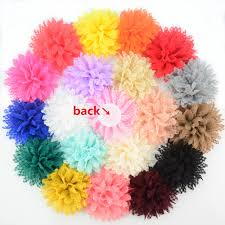 <b>Yundfly 10PCS 4</b> Boutique Cotton Solid Ballerina Lace Flower For ...