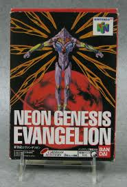 Video game:Nintendo 64 <b>Neon Genesis Evangelion</b> - Japanese ...