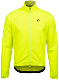 Screaming Yellow L PEARL <b>IZUMI Mens</b> Quest Barrier Jacket