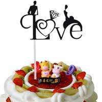 Wholesale <b>Love</b> Heart <b>Wedding Cake Toppers</b> for Resale - Group ...