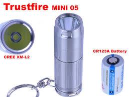 <b>Trustfire Mini</b> 05 LED Flashlight CREE XM <b>L2</b> Pocket <b>mini</b> Light ...