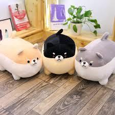 <b>1PC</b> New <b>40cm</b> Cute Shiba Inu Dog <b>Plush Toy Stuffed</b> Soft Animal ...