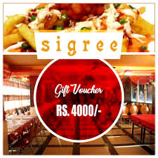 Sigree Gift Card ₹ 4000 Gift Vouchers for Mom