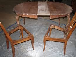 Refinishing A Dining Room Table Revitalizing An Antique Dining Room Set Part 3 Funcycled